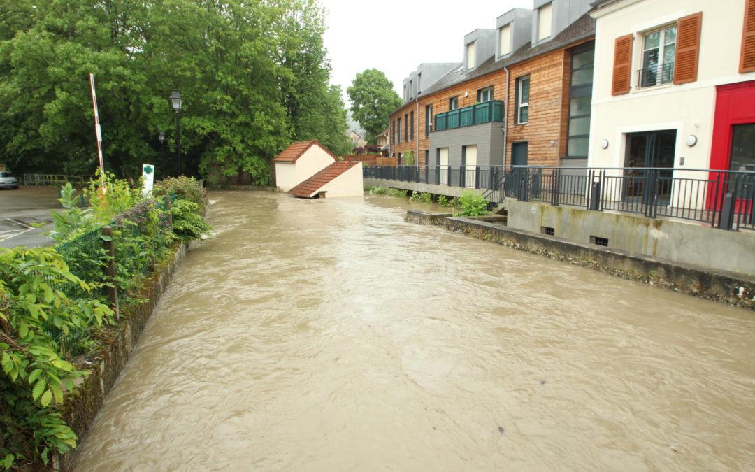 La situation météorologique et ses conséquences hydrologiques : Inondations de 2016 en Île de France.